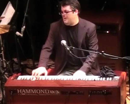 Mauri Sanchis organista hammond